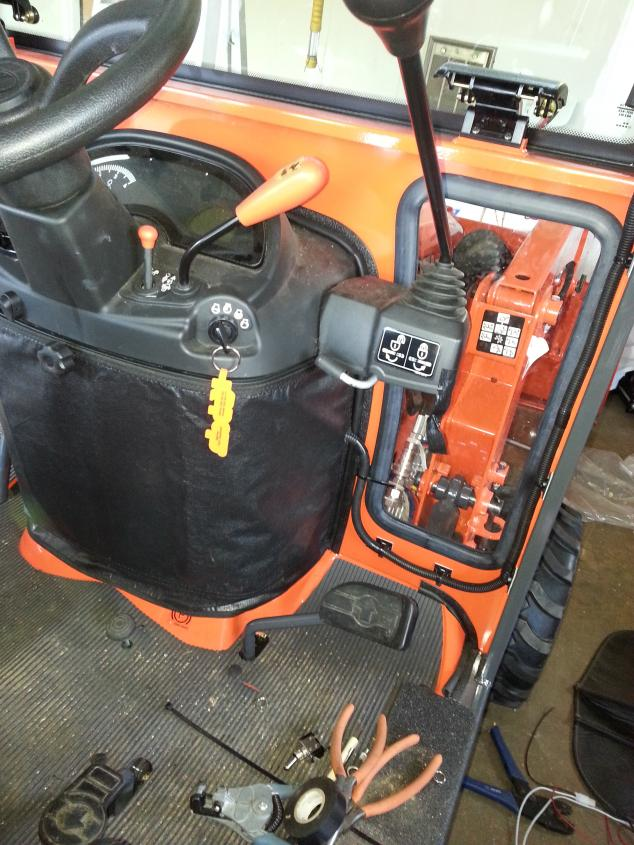 BX25D- Heater installation for a cab - OrangeTractorTalks