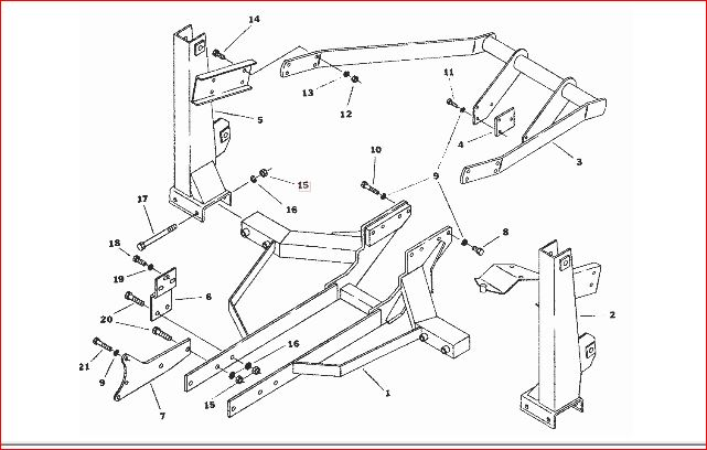B219 loader from b6100 manual tranny fit b7100 hst