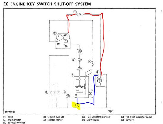 ... L Kubota Wiring Diagram on kubota bx2350 wiring diagram, kubota b3030 wiring diagram, ...