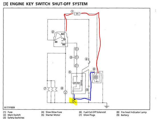 l kubota wiring diagram on kubota bx2350 wiring diagram, kubota l3400 wiring  diagram,