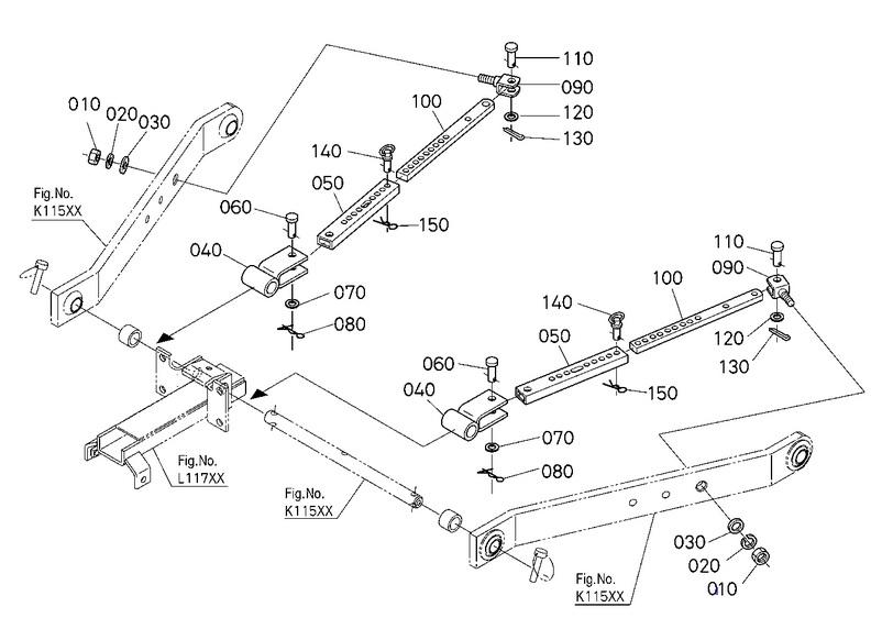 Kubota Tractor 3 Point Hitch Diagram : Point hitch orangetractortalks everything kubota
