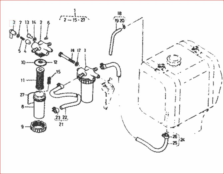 743 Bobcat Fuel System Schematic  Parts  Wiring Diagram Images