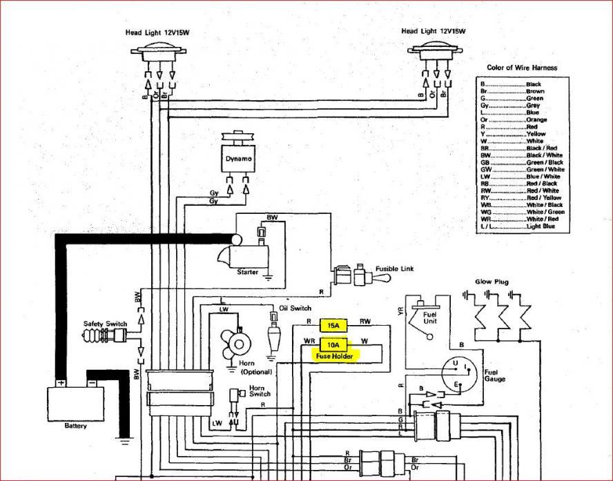 kubota wiring diagram kubota image wiring diagram kubota tractor wiring diagram jodebal com on kubota wiring diagram