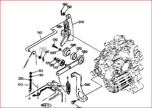 Late model B7100HST Hydro Pedal Problem