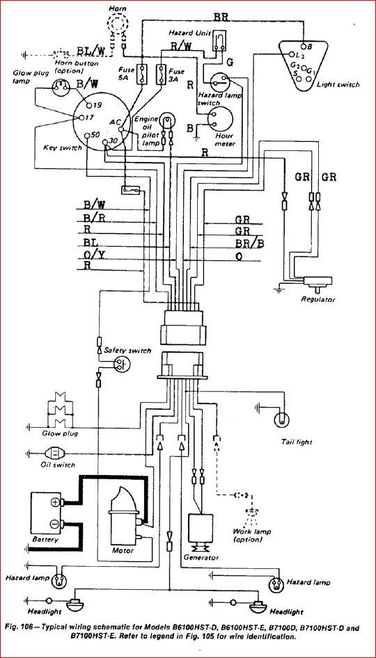 l3400 kubota tractor wiring diagrams