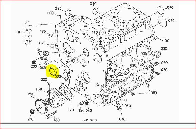 HELP! B7300 HST Water in oil ??New Head