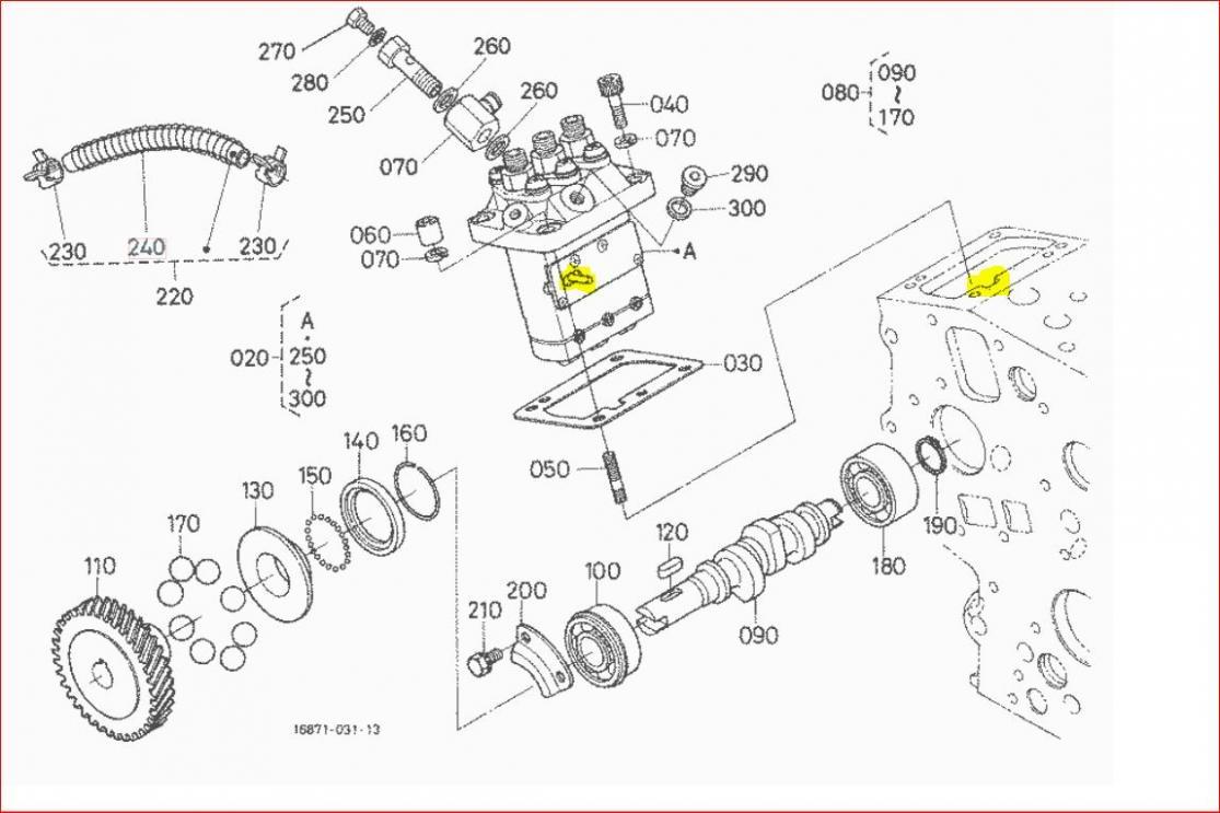 kubota 3 cyl engine alternator wiring diagram kubota b2150