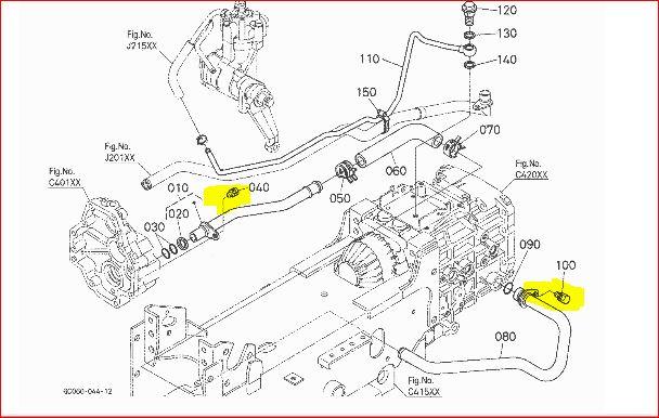 Kubota B7100 Wiring Schematic Kubota L3350 Wiring