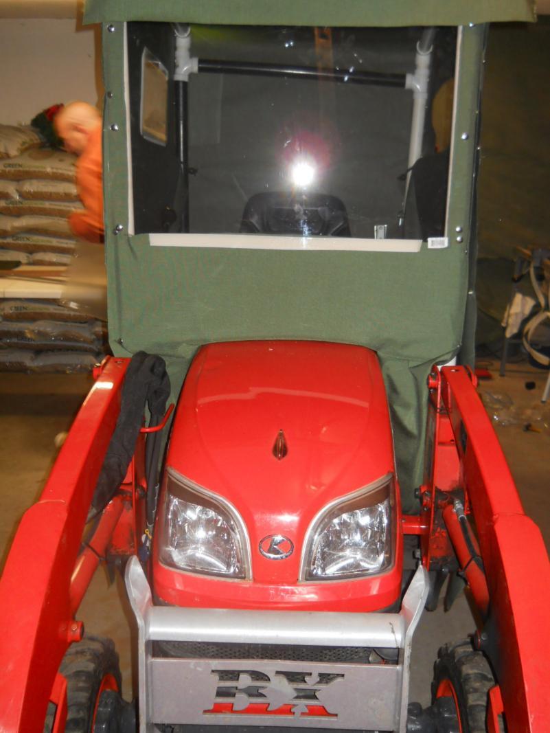 DIY Cab OrangeTractorTalks Everything Kubota – Garden Tractor Cab Plans