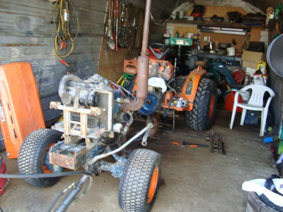 Adding Power Steering to a B7100HST 4x4 - OrangeTractorTalks