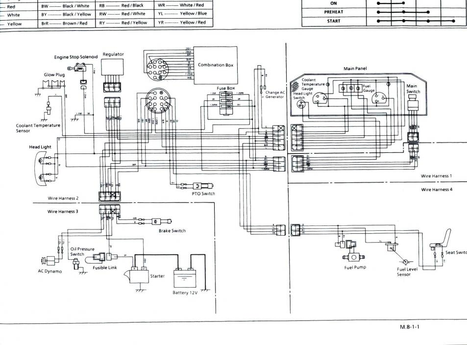 Kubota L35 Ignition Switch Wiring Diagram Kubota Free