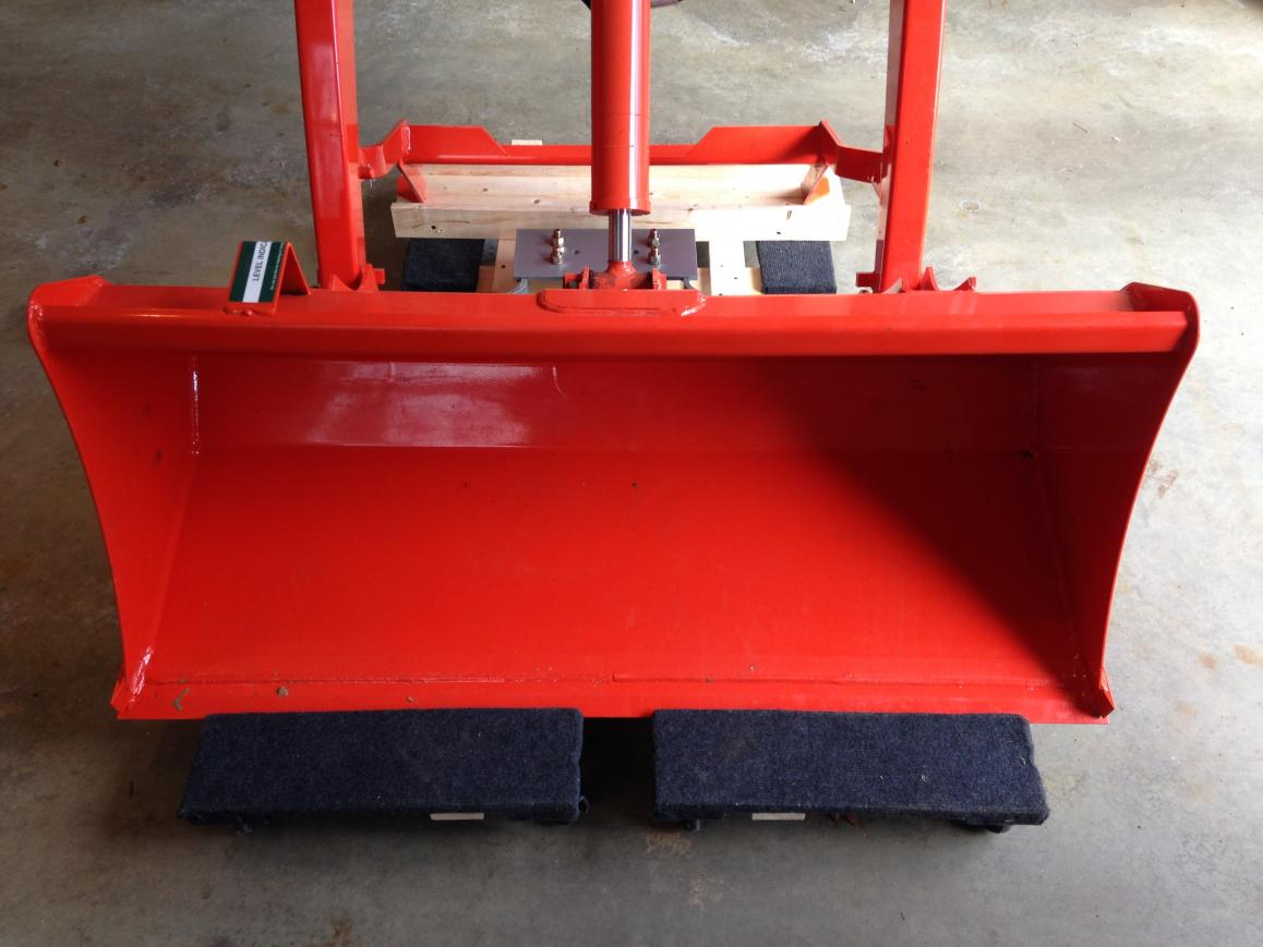 Implements for my Kubota BX2370 and how I store them