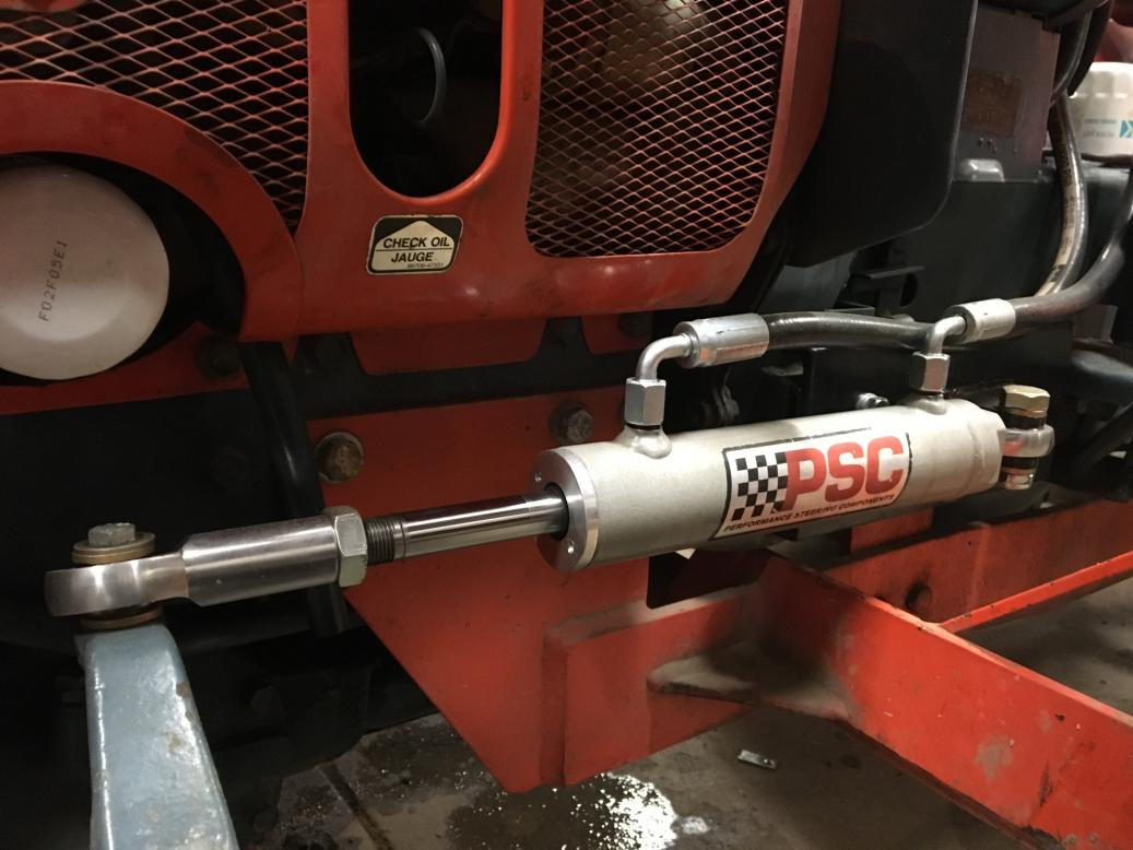 B7100 Power Steering upgrade complete - Page 2 - OrangeTractorTalks