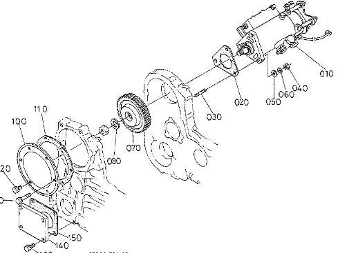 Kubota m8580 4 cylinder. Engine disturbed pending repair