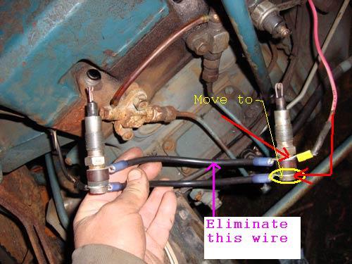 Glow plug wiring L200 L210 OrangeTractorTalks Everything Kubota – L2350 Kubota Wiring Diagram