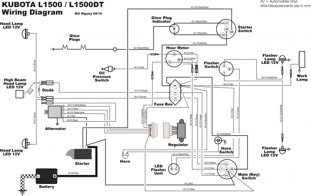 Kubota Starter Wiring Diagram from www.orangetractortalks.com