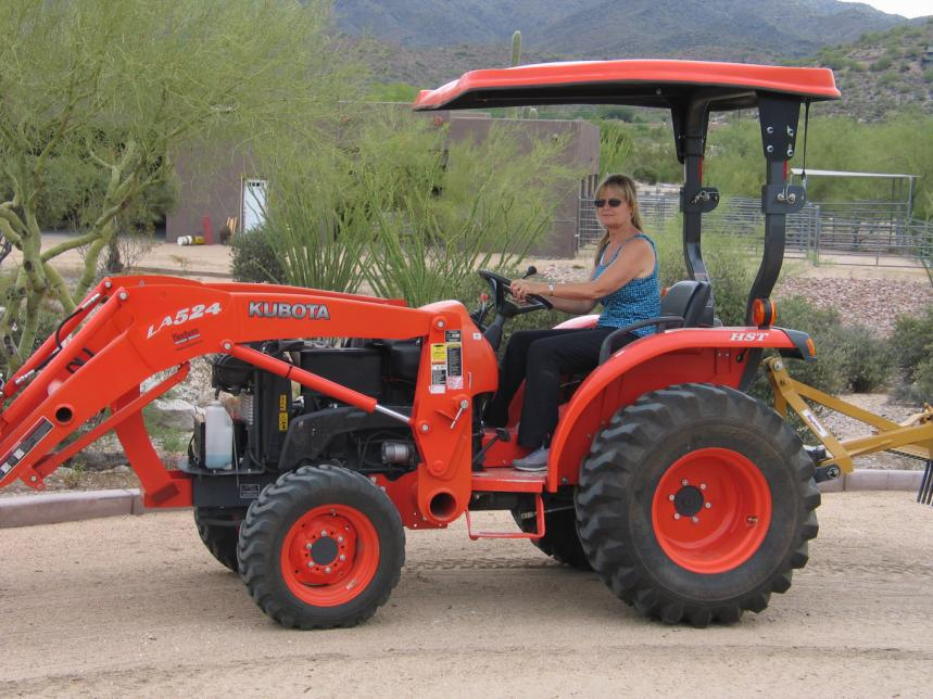 Click Here To Purchase Kubota Fiberglass Tractor Canopy With