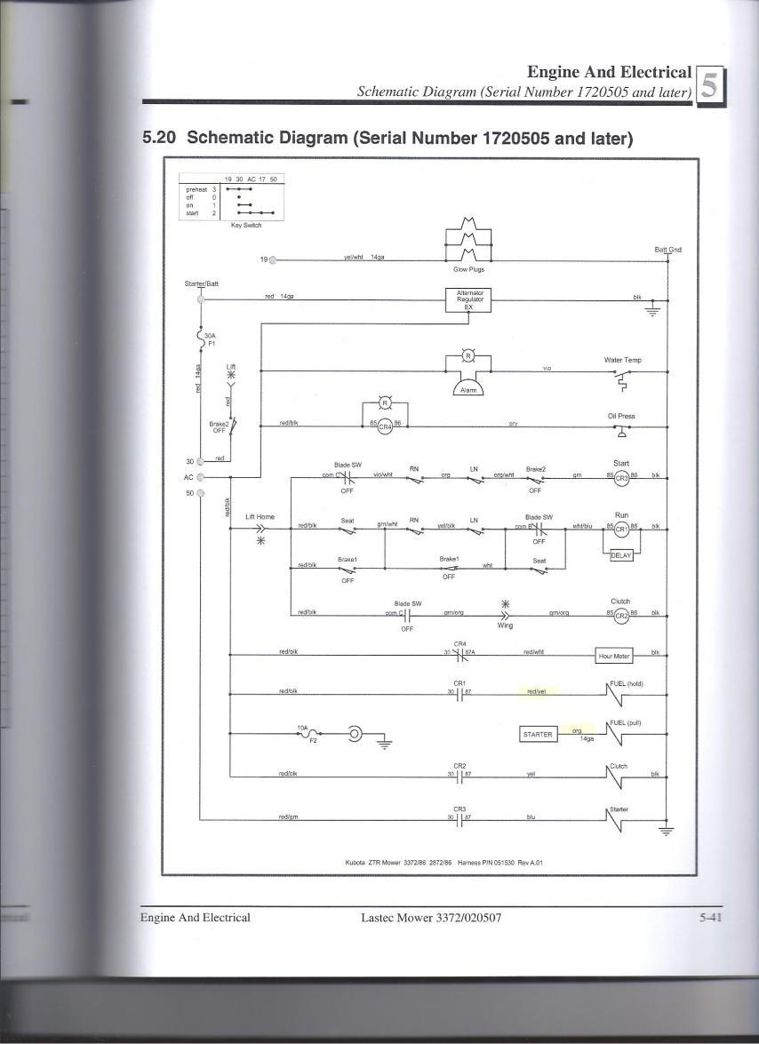 Lastec 3372 Kubota Engine Will Not Fire Page 3 – Kubota L4310 Wiring Diagram