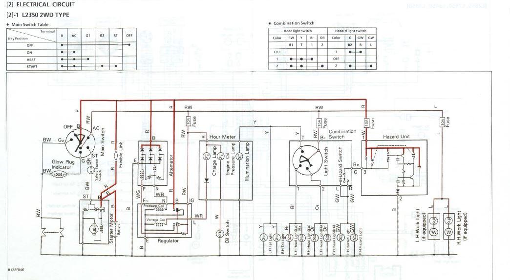 [SCHEMATICS_48IU]  L2350 Wiring Harness - Newbie Question | OrangeTractorTalks - Everything  Kubota | Kubota L2350 Wiring Diagram |  | OrangeTractorTalks