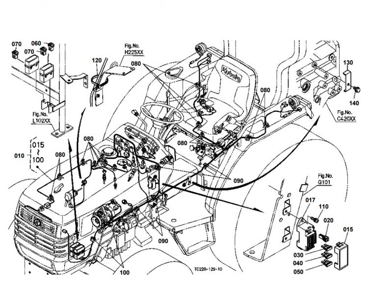 L3800 Kubota Tractor Wiring Diagram Wiring Diagram And