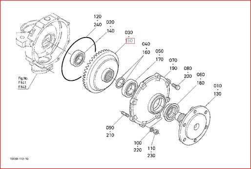 Kubota L3130 Parts Diagram For Front Axle Within Kubota
