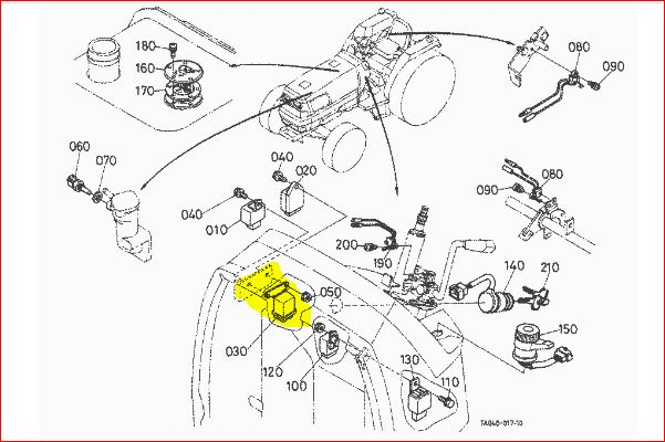 kubota glow plug relay location  kubota  wiring diagram