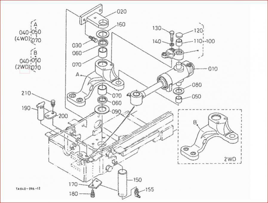 Kubota Pitman Arm : Steering mishap orangetractortalks everything kubota