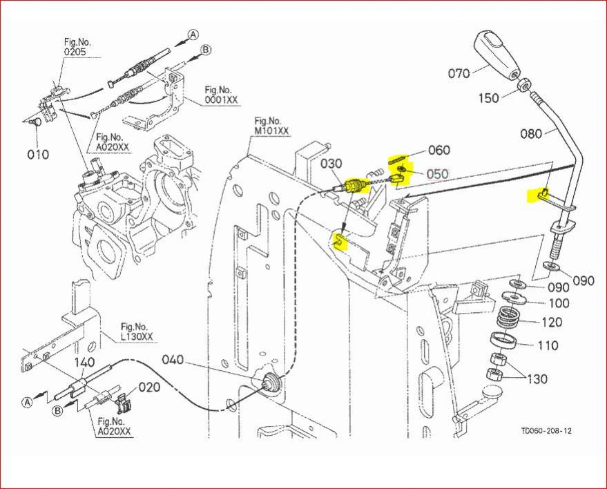 kubota parts diagrams