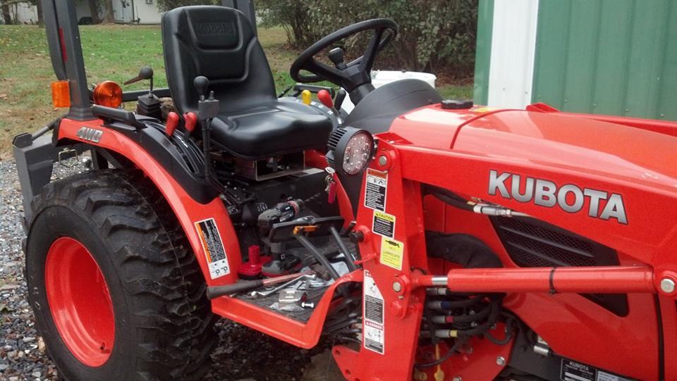 Kubota Tractor Led Lights : Work lights orangetractortalks everything kubota