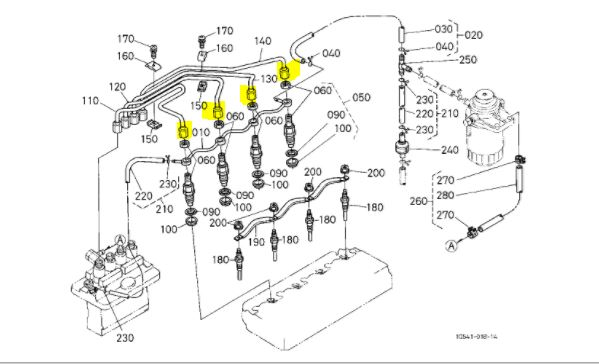 M8200 injector bleed - OrangeTractorTalks - Everything Kubota
