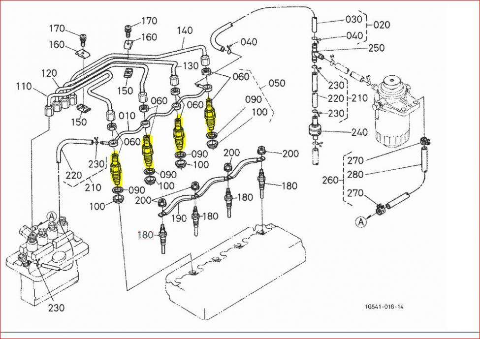 Bobcat Kubota Engine Wiring Harness on kubota glow plug relay location