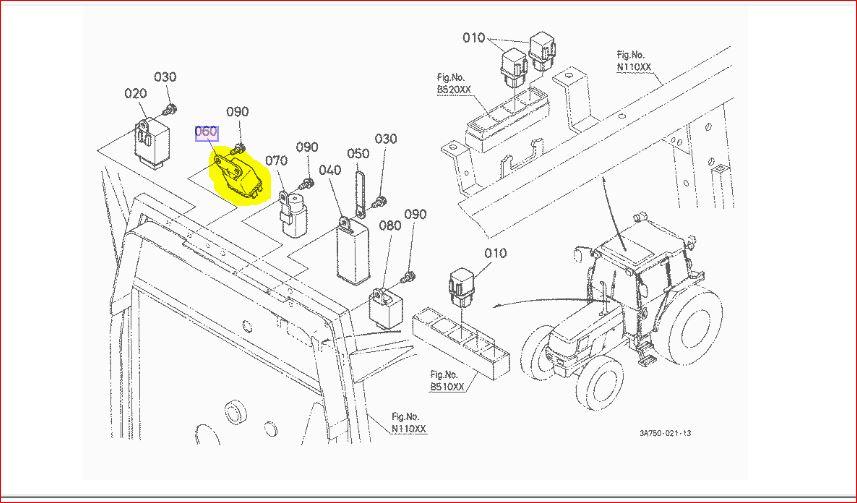 Kubota L2500 Electrical Wiring Diagram L3600 Kubota Wiring