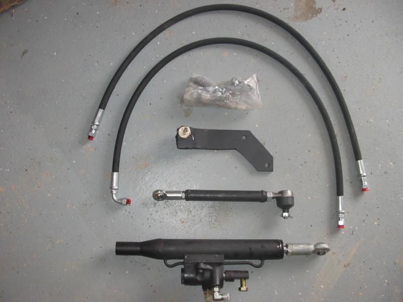 Power Steering Add on for the B8200, Part 1(picture heavy