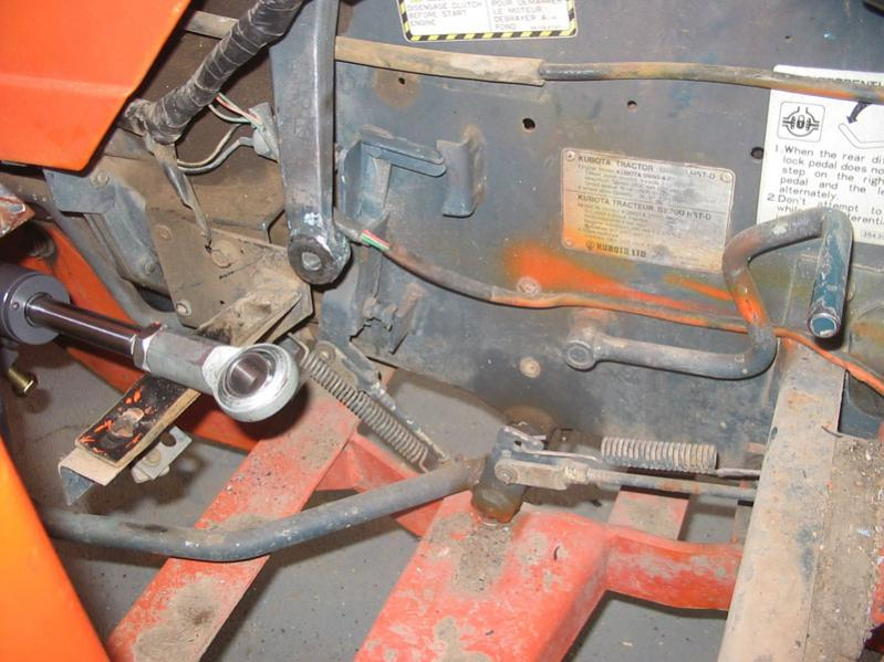 Kubota Pitman Arm : Power steering add on for the b part picture heavy