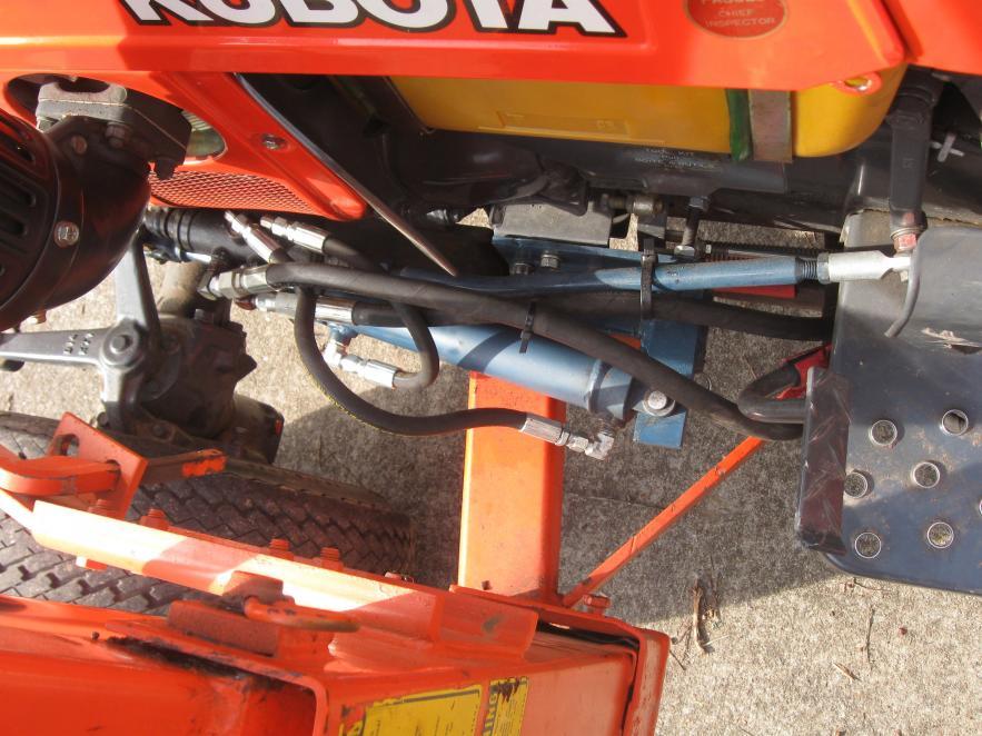 Adding Power Steering B7100 HST-D - OrangeTractorTalks - Everything