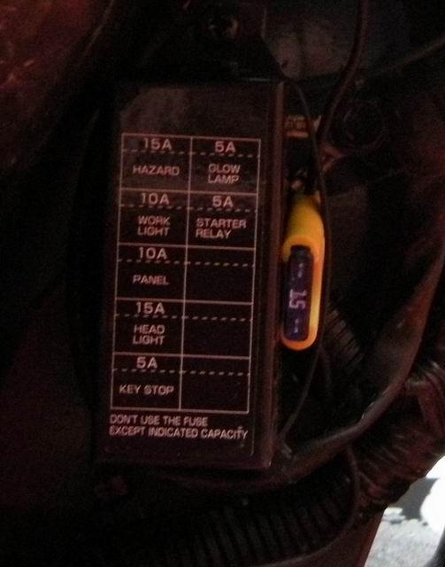 Auxiliary Light Wiring - OrangeTractorTalks - Everything Kubota on