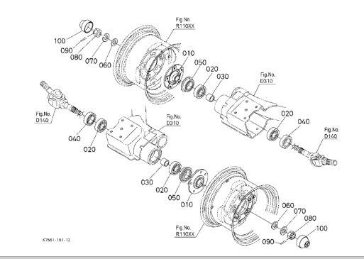 Kubota L3430 Parts Diagram Circuit Diagram Maker