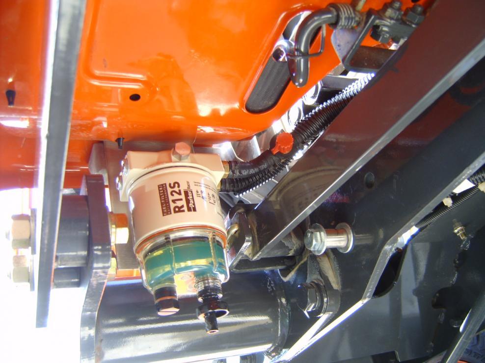 BX25-D Fuel Filter Conversion  - OrangeTractorTalks - Everything Kubota