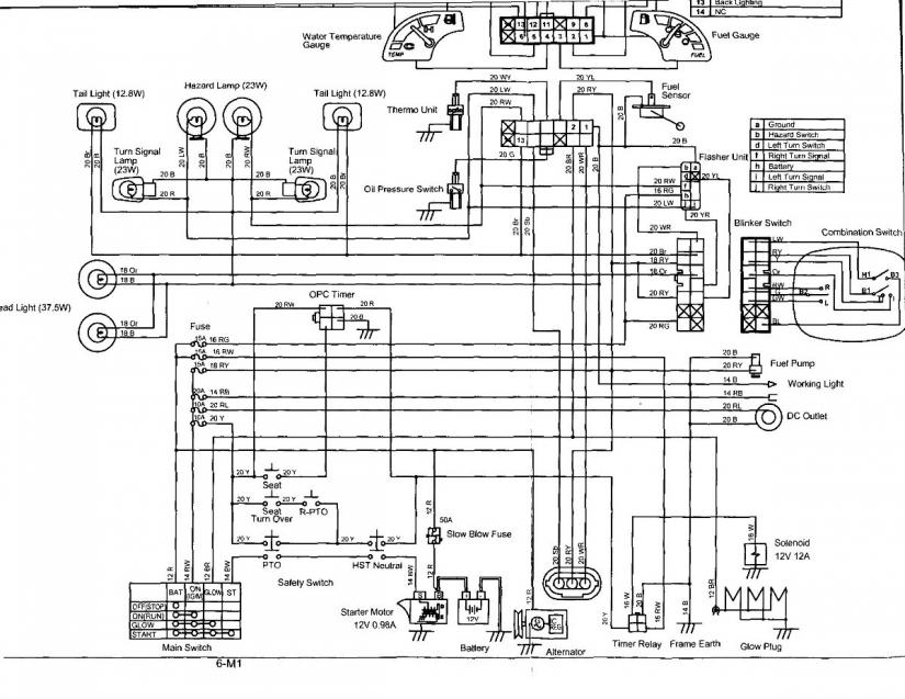 Wiring Diagram For Kubota Bx2350