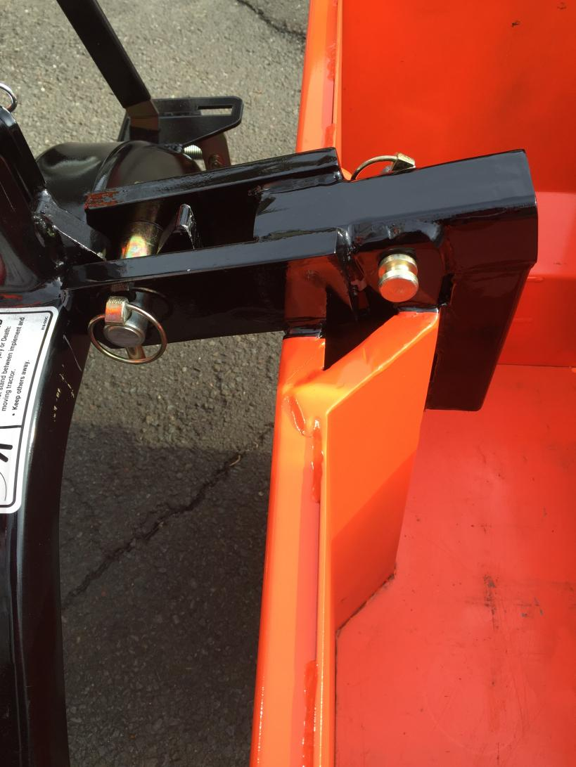 BX Weight Box with Quick Hitch Question - OrangeTractorTalks
