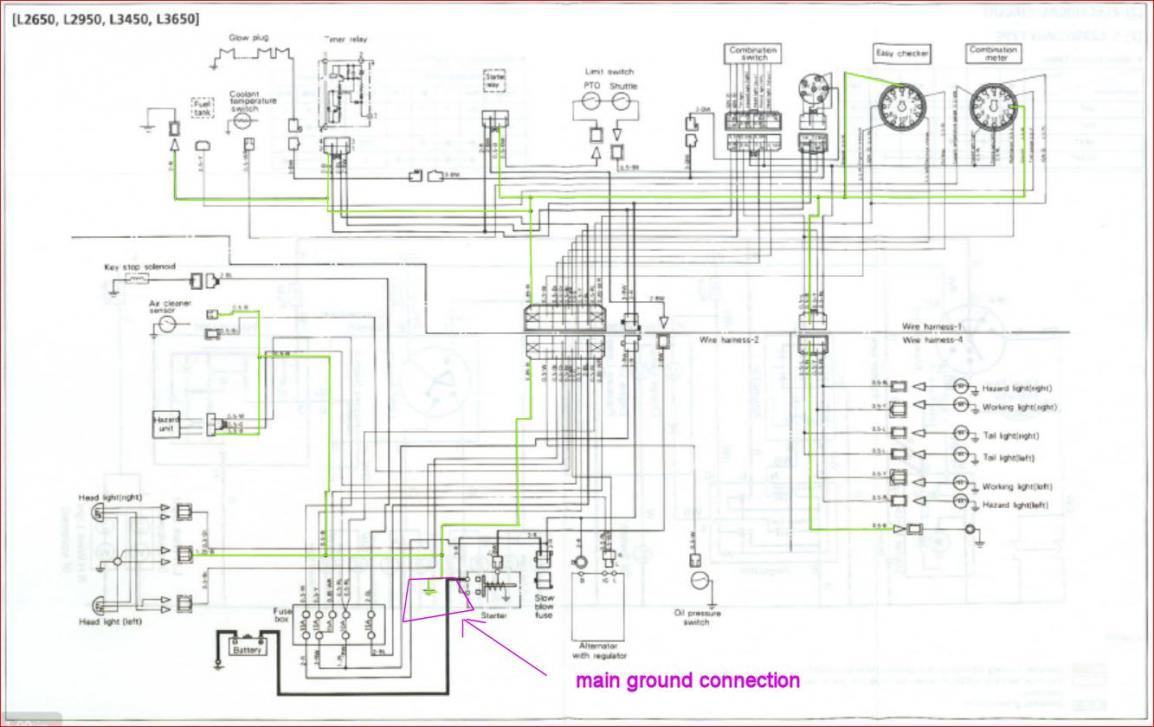 A curcuit wiring schematics