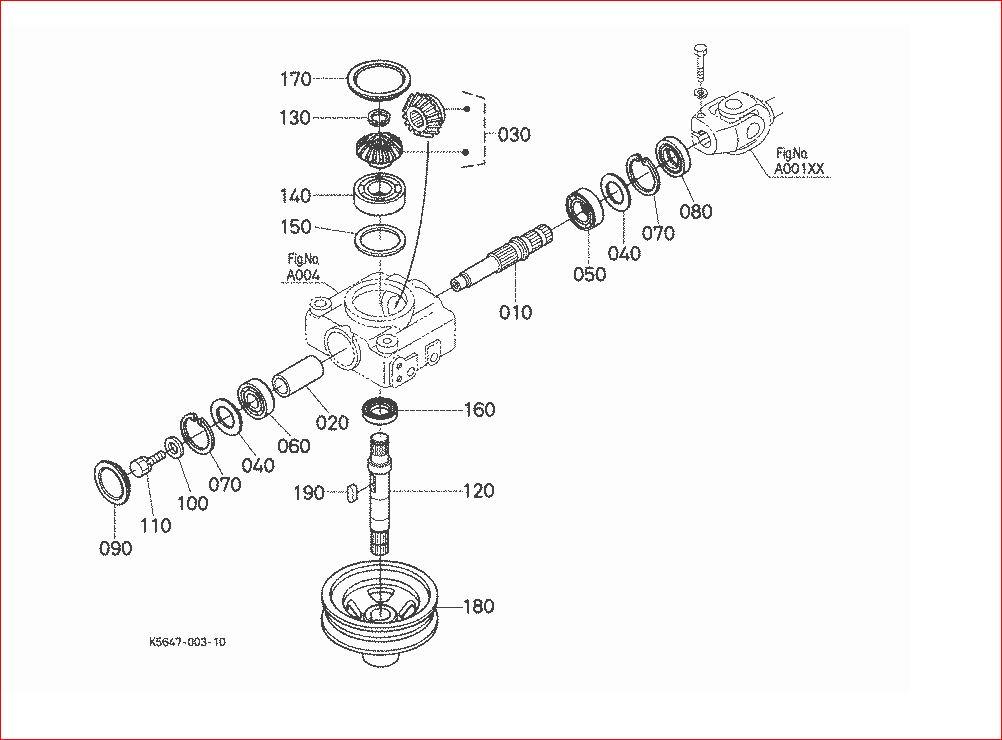 Zd21 Mower Deck Gearbox - Orangetractortalks