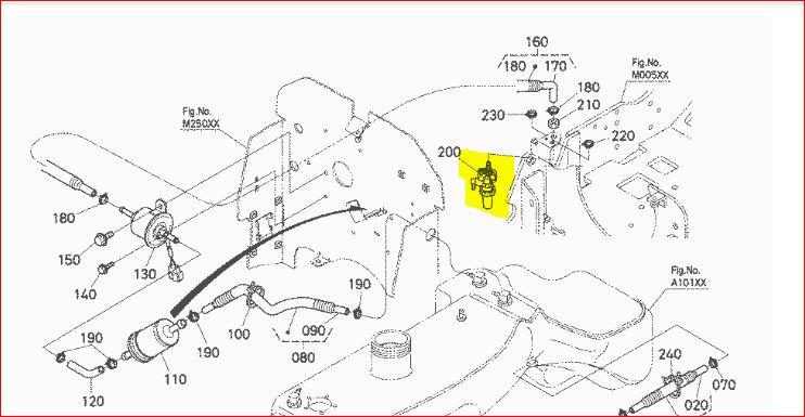 Kubota L2600 Wiring Diagram L3400 Kubota Wiring Diagram