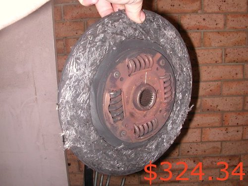 L2350 Clutch Estimate