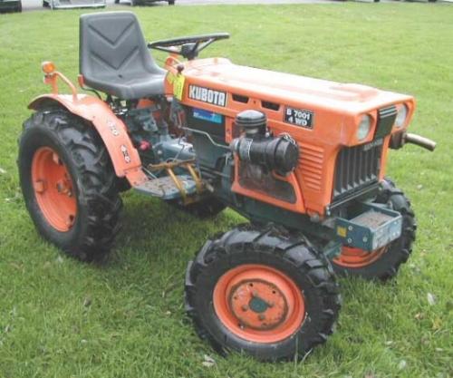 A grey market B7001 closer to original condition