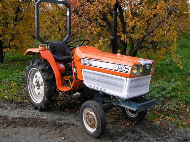 The L1802 - a joint venture between Kubota and Daedong