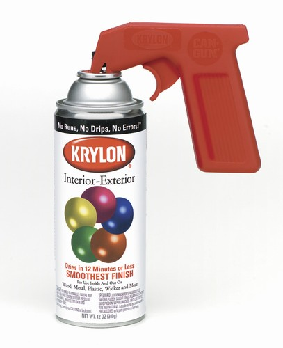 A spray can adapter can save your trigger finger and makes a can easier to use