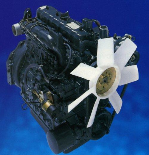 Kubota Super Three Engine